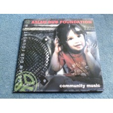 ASIAN DUB FOUNDATION - COMMUNITY MUSIC 2LP - Nr MINT INDIE DANCE JUNGLE DUB RAP