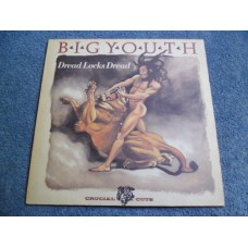 BIG YOUTH - DREAD LOCKS DREAD LP - Nr MINT A1/B1 UK  REGGAE DUB