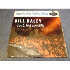 BILL HALEY AND HIS COMETS - ROCK 'N' ROLL STAGE SHOW LP - EXC+ UK 1956