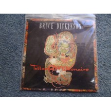 "BRUCE DICKINSON - TATTOOED MILLIONAIRE 7"" - EXC+ UK  IRON MAIDEN HEAVY METAL"