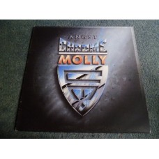 CHROME MOLLY - ANGST LP - Nr MINT A1/B1 UK 1988  HARD ROCK