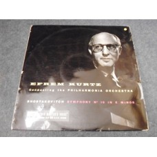 EFREM KURTZ - SHOSTAKOVITACH SYMPHONY No 10 IN E MINOR LP - Nr MINT UK