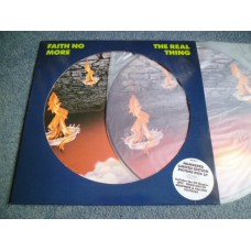 FAITH NO MORE - THE REAL THING Picture Disc LP - Nr MINT UK  METAL PUNK