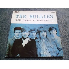 THE HOLLIES - FOR CERTAIN BECAUSE... LP - Nr MINT A1/B1 UK GRAHAM NASH