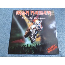 "IRON MAIDEN - INFINITE DREAMS 12"" - Nr MINT A1/B1 UK  HEAVY METAL"