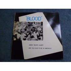 JAMES 'BLOOD' ULMER - ARE YOU GLAD TO BE IN AMERICA? LP - Nr MINT A1/B1 UK FUNK JAZZ SOUL