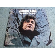 JOHNNY CASH - ANY OLD WIND THAT BLOWS LP - Nr MINT- COUNTRY