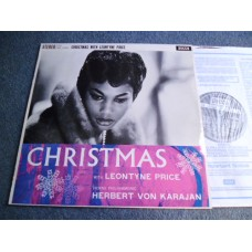 HERBERT VON KARAJAN - CHRISTMAS WITH LEONTYNE PRICE LP - Nr MINT UK DECCA