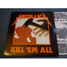METALLICA - KILL 'EM ALL LP - Nr MINT A1/B1 UK  THRASH METAL