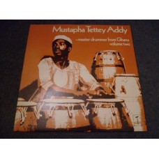 MUSTAPHA TETTEY ADDY - MASTER DRUMMER FROM GHANA VOL 2 LP - Nr MINT   WORLD MUSIC