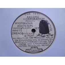 "MYSTERIOUS FOOTSTEPS - WHITE DREAD 7"" - EXC UK  SKA NEW WAVE INDIE"