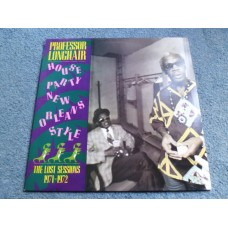 PROFESSOR LONGHAIR - HOUSE PARTY NEW ORLEANS STYLE LP - Nr MINT A1/B1 UK  BLUES