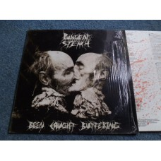 PUNGENT STENCH - BEEN CAUGHT BUTTERING LP - Nr MINT  THRASH METAL 1991