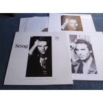 STING - NOTHING LIKE THE SUN 2LP - Nr MINT A1 UK  POLICE