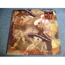 VARIOUS - STRAIGHT TO HELL Soundtrack LP - Nr MINT A1/B1 UK PUNK POGUES JOE STRUMMER